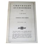1960 Custom features booklet