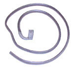 1969-1972 Roof side lower seal