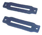 1969-1972 Rear hatch hinge cover gaskets