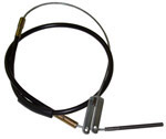 1960-1962 Brake cable - front