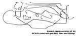 1961 Disc brake conversion lines