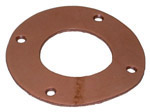 1942-1945 Flat leather to fit under gas filler neck ring retainer