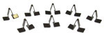 1955-1959 Dash clips for top strip at base of windshield