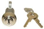 1940-1953 Glovebox lock and key