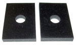 1947-1955 Front cab mount pads (included in CB150)
