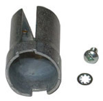 1940-1953 Glovebox lock retainer and screw