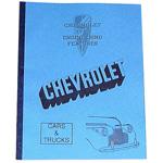 1940 Chevrolet engineering features book
