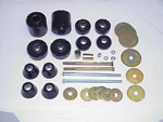 1967-1972 Cab and radiator core support mount kit