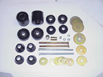 1970-1972 Cab and radiator core support mount kit