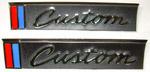 1967-1968 Outside door emblems