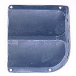 1955-1959 Door hinge inspection plate