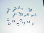 1952-1959 Door striker plate screws