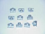 1936-1959 Beaded window seal clips