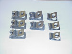 1967-1970 Clips for the brake lines