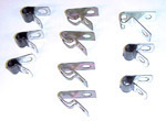 1973-1980 Clips for the brake lines