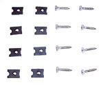 1967-1972 Headlight bezel screws