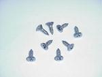 1967-1968 Headlight bezel screws