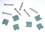 1963 Headlight bezel screws
