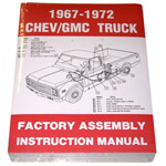 1967-1972 Factory assembly manual