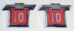 1964 Fender emblems