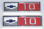 1965 Fender emblems