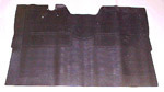 1947-1955 Rubber molded floor mat
