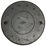 1936-1959 Master cylinder floor hole cover