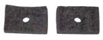 1947-1951 Brake and clutch floor felt seal