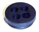 1954-1959 4-hole firewall grommet for cables