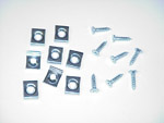1942-1955 Hood lace retainer clips