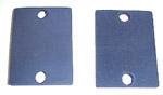 1941 Front inner fender mount pads
