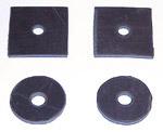 1942-1946 Front inner fender mount pads