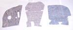 1947-1953 Firewall insulation pad set