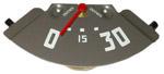 1947-1948 Oil pressure gauge