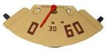 1947-1951 Oil pressure gauge