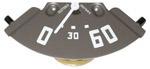 1952-1953 Oil pressure gauge