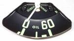 1954-1955 Oil pressure gauge