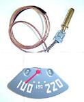 1947-1948 Temperature gauge