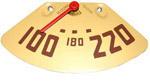 1947-1951 Temperature gauge