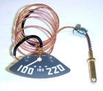 1949-1951 Temperature gauge
