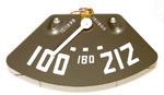 1952-1953 Temperature gauge