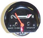 1967-1972 Temperature gauge