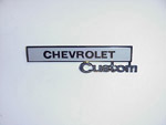 1969-1972 Glovebox door emblem