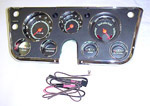 1967-1968 Gauge cluster with tachometer and vacuum gauge