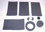1949-1959 Gas tank mounting pads