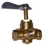 1936-1991 Gas tank selector valve