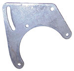 1968-1970 A/C compressor front bracket (has the slot for adjustment)