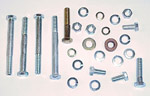 1967-1972 A/C compressor mounting hardware