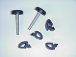 1967-1972 Hood bumpers and screw adjustable front stops