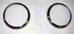 1947-1955 Headlight outer bezels